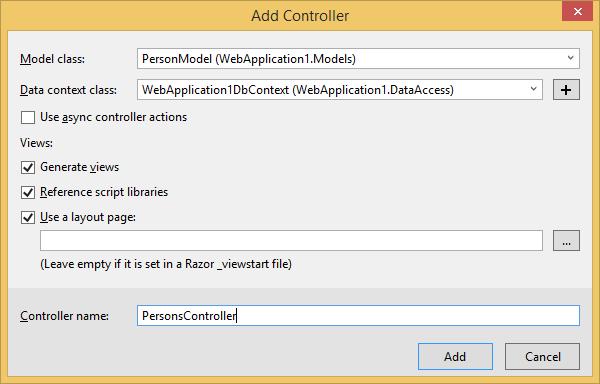 How To Fix Common Errors Using ASP NET MVC Scaffolding | Claudio
