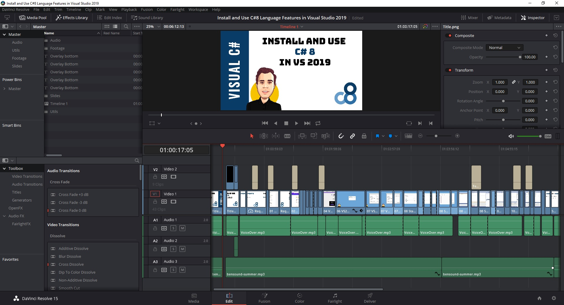 Why I Use DaVinci Resolve 15 for Video Editing | Claudio Bernasconi