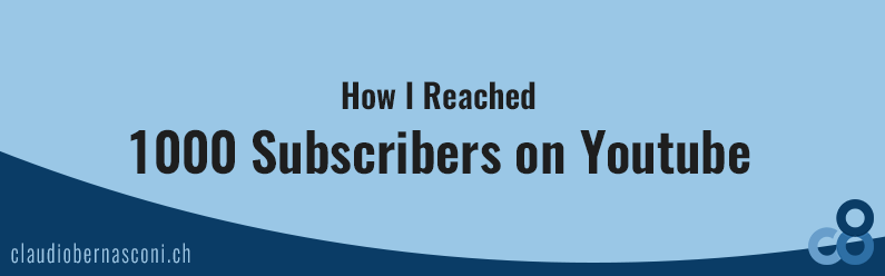 How I Reached 1000 Subscribers on Youtube