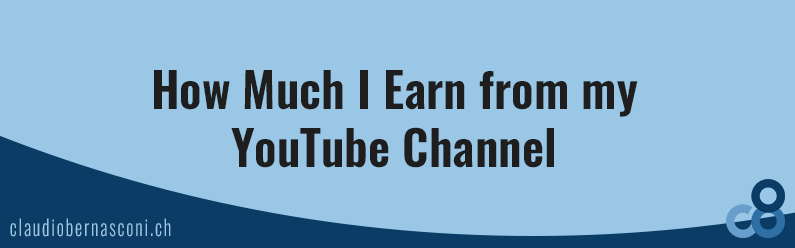 How Much I Earn from My YouTube Channel