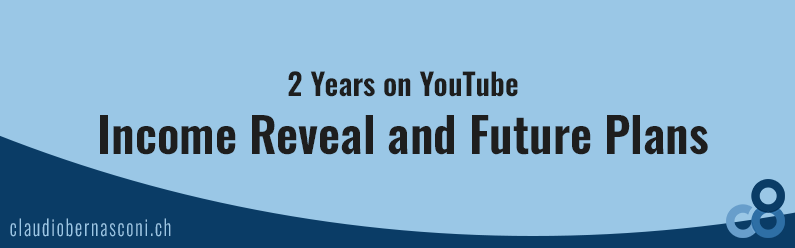 2 Years on YouTube – Income Reveal and Future Plans